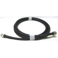 214MILNMNM-3  Cable Assembly, 3 Foot RG214MILC17 with Type-N Male