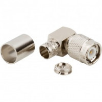31-6002-RFX  TNC Male Crimp Connector, Right Angle, Cable Group I, Amphenol
