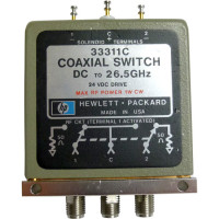 33311C Coaxial Switch, DC to 26.5 GHz, SMA, Hewlett Packard
