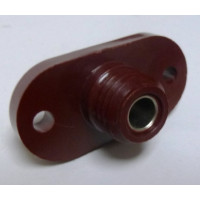 37001D HIGH VOLTAGE SAFETY TERM, RED FLANGE