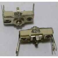 428 Trimmer, compression mica, 95-350 pF