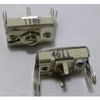 4611 Trimmer, compression mica, 300-1000 pF