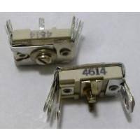 4614 Trimmer, compression mica, 380-1300 pF