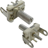 466X Trimmer, compression mica, 105-480 pF, w/Tuning shaft