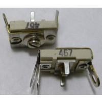 467 Trimmer, compression mica, 140-580 pF