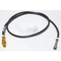 58SMSFBH-30  Pre-Made Cable assembly, RG58 Cable with SMA Male & SMA Female Bulkhead, 30 inches