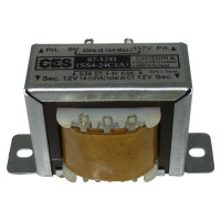 671241 Low voltage transformer, 24vct, 117VAC/60cps, 0.5 amp,(67-1241) CES