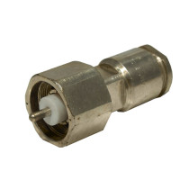 82-160 LC Male Clamp Connector, RG211, RG228A, Amphenol