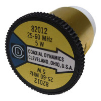 CD82012 wattmeter element, 25-60mhz 5 watt Coaxial  Dynamics