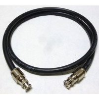 213-BMBM-6 Pre-Made Cable Assembly, 6 foot / 72 Inches, RG213 w/BNC Male (AAA1003-72)