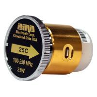BIRD25C  Bird Wattmeter Element,  100-250 MHz, 25 Watt, Bird