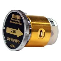 BIRD25D  Bird Wattmeter Element,  200-500 MHz, 25 Watt, Bird