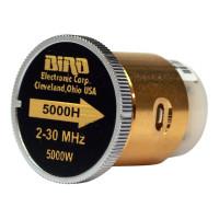 BIRD5000H-1  Bird Wattmeter Element,  2-30 MHz, 5000 Watt, Bird (Clean Used)