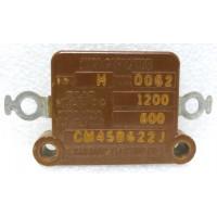 CM45B622J Mica Capacitor, .0062mfd 600v, Sangamo