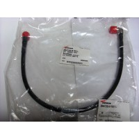 F4A-PQMQR-MT3  Cable Assembly, 2.8 ft FSJ4-50B w/ QDS Male & QDS Male Right Angle Installed on both side, Andrew