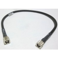 F4A-PQMQM-MT2  Pre-Made Cable Assembly, 1m (3.3 ft) FSJ4-50B w/ QDS Male Push On Connectors Installed on both sides, Andrew