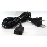 FPC68FT Fan power cord w/6 ft ac plug, straight plug