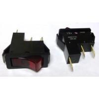 G403LV Lighted Rocker Switch, SPST, 12v