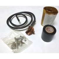 "GC12-3 Click On Grounding Kit for 1/2"" Cable, 3' Lead"