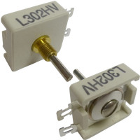 L302HV  Trimmer Capacitor, compression mica, 10-48 pf