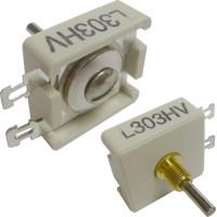 L303HV  Trimmer Capacitor, compression mica, 45-105 pf