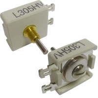 L305HV  Trimmer Capacitor, compression mica, 95-230 pf
