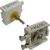 L307HV  Trimmer Capacitor, compression mica, 170-350 pf