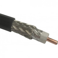 RFP400  FLEXIBLE LOW LOSS COMMUNICATIONS COAX, 50 ohm, .405 dia, CABLE GROUP: I, MFR: Judd Wire