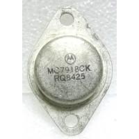 MC7918CK Transistor, Voltage Regulator, 18v, Negative, Motorola