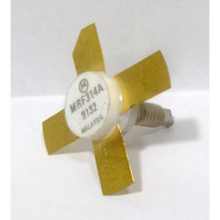 MRF314A NPN Silicon Power Transistor, Stud Mount, 30W, 30-200MHz, 28V, Motorola