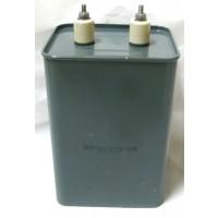 P0705004Y21  Oil Filled Capacitor, 4uf 5000vdc, Aerovox (C703)