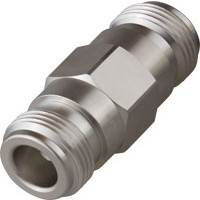 P2RFN-F-F  IN Series Adapter, Type-N Female to Female, LOW PIM