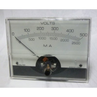 PMV500 Panel meter, dc volts, Modutec