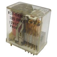 R10E4341-1 Relay, 3PDT, 185 ohm, 12vdc, Palomar, P & B