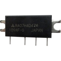 RA07H4047M, RF Power Module, 400-470 MHz, 7 Watt, 12v, Mitsubishi