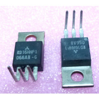 RD16HHF1-PL Transistor, 16 watt, 30 MHz, 12.5v, Mitsubishi (Preformed Leads)