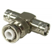 RHV130  MHV In  Series T Adapter, Male to Double Female, RFI