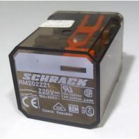 RM202221 Relay, DPDT, 16a 220v, Schrack