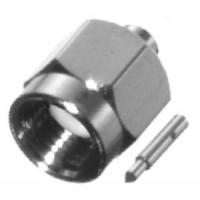 142-0281-006 SMA Male Connector, .141 Semi Rigid, EF Johnson (NOS)