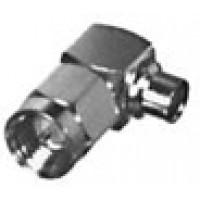 RSA3510-1-141 SMA MALE R/A CABLE PLUG, G,G,T; FOR .141 SEMI-RIGID, RFI