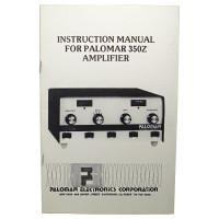 SM350Z Instruction Manual Palomar 350Z