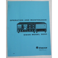 SMS500C  Swan Operation and Maintenance manual, 500C