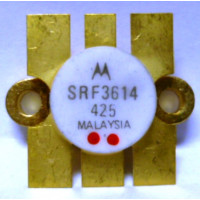 SRF3614 Transistor, 12 volt 45 watt (Selected Gain MRF646), Motorola