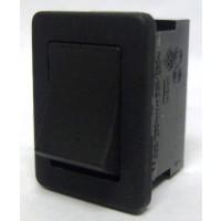 T881  Rocker Switch, SPST, 6a 250vac (Plain-no lettering)