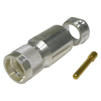 TC600UMC UHF Male Clamp Connector, (PL259) Cable Group L2, Times