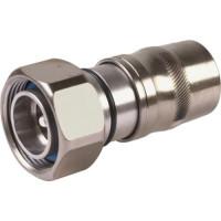 UXP-DM-12  7/16 DIN Male Connector, LDF4-50A / LCF12-50, PPC