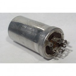 031-464  Twist Lock Capacitor, 40/20/10/10uf -- 450/450/400/350, Sprague