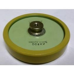 1000-8  Doorknob Capacitor, 1000pf 8KV,