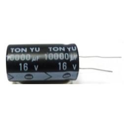 10000-16R Capacitor, 10000 uf 16v Radial, Tonyu