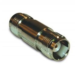 122348 IN Series Adapter, TNC Female to TNC Female Barrel, Amphenol